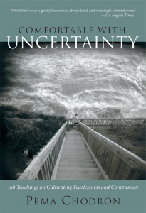 paperback Comfortable with Uncertainty