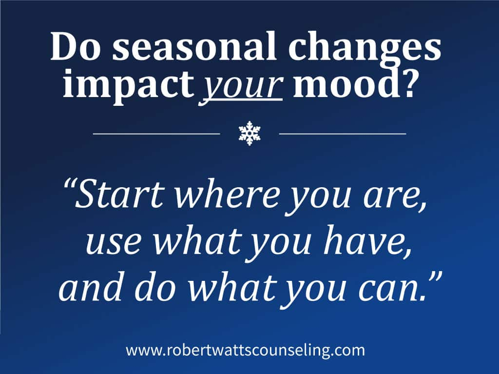 Improving Your Mood Through the Impact of Seasonal Changes